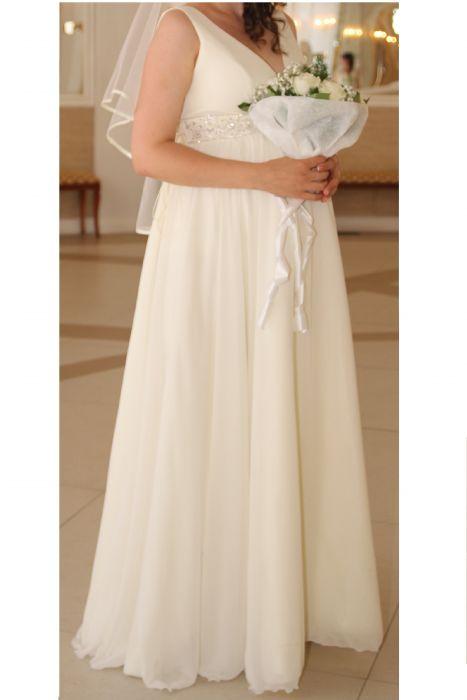 9cc92cf5169 Свадебное платье для беременных на большом сроке купить