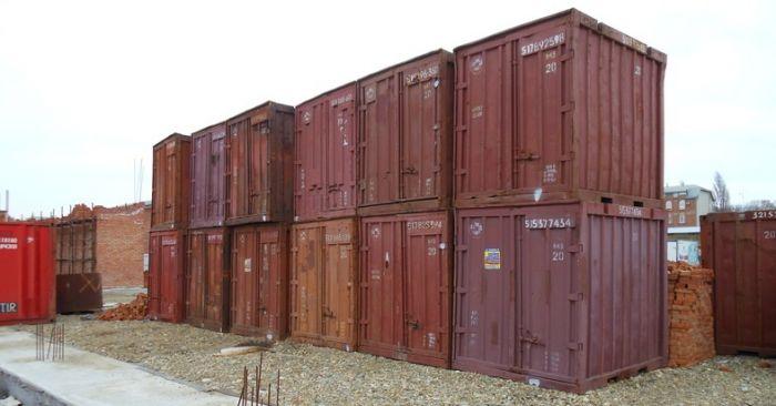 Стоимость контейгера 5 т