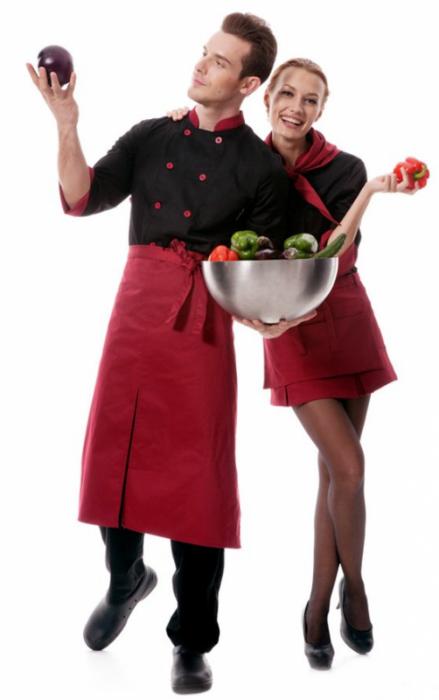 Одежда для официантов и поваров - Одежда (униформа) для персонала Купить спецодежду для
